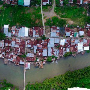 Viabilisation d'un quartier informel